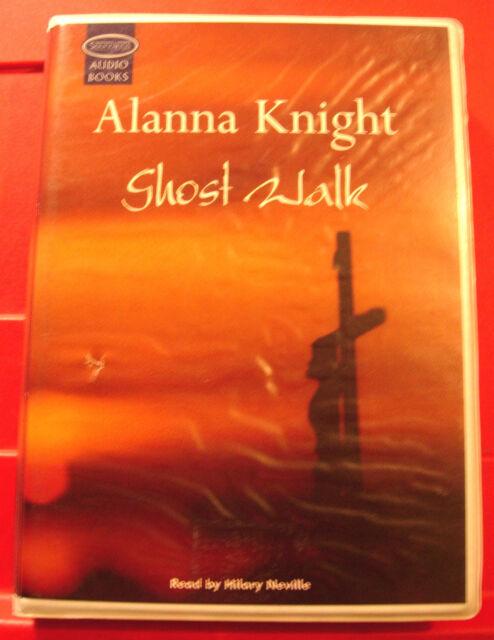 Alanna Knight Ghost Walk Rose McQuinn 6-Tape UNABR.Audio Book Hilary Neville
