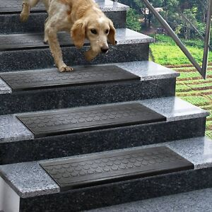 Image Is Loading Outdoor Rubber Stair Treads Non Slip Anti Trip