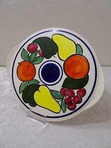 Rockabilly Midcentury Diseño Limburg Cerámica Plato para Tartas Vintage 1950/60