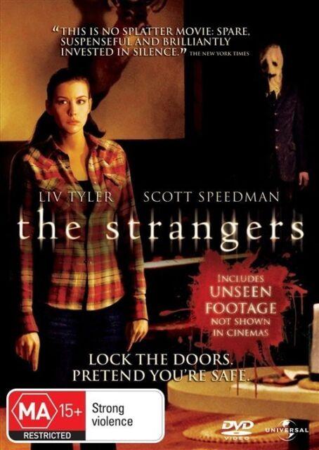 The Strangers (DVD, 2008)Liv Tyler -Lock Doors.Pretend You're Safe - Free Post!