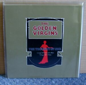 The-Golden-Virgins-The-Thought-Of-Her-Double-Vinyl-Unplayed-7-Inch