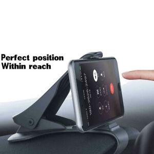 Adjustable-Antiskid-Car-Phone-Holder-Clip-HUD-Design-Dashboard-Mount-Universal