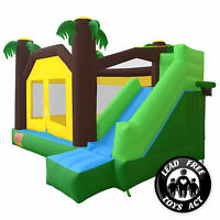 Jungle Theme Bounce House Jumper Bouncy Castle Bouncer Inflatable Only on sale