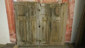 C85-41-x-37-1-4-Pair-of-Old-Georgian-Pine-Cupboard-Doors-in-York
