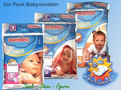 3-6kg Industrious Bambino Bébé Couche-culotte 8-19kg/2 Pièces Pack Limpid In Sight 5-10kg