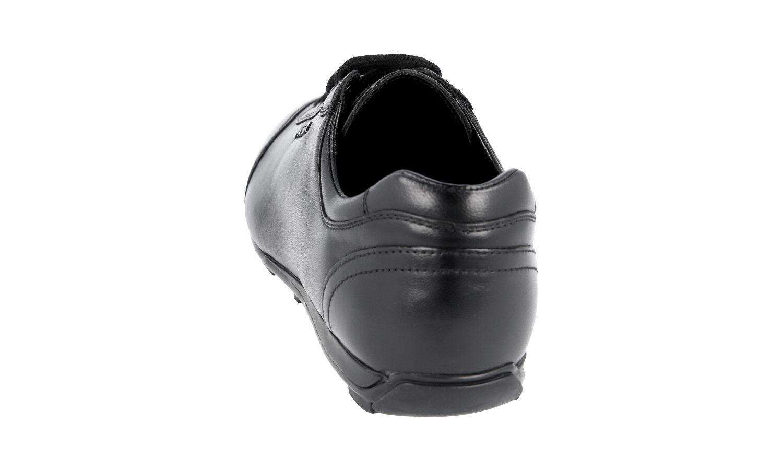 AUTHENTIC AUTHENTIC AUTHENTIC LUXURY PRADA baskets chaussures 3E4900 noir NEW US 10 EU 40 40,5 UK 7 b61850
