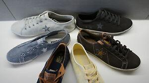 CONVERSE ALL STAR femmes fille marron gris jaune trainer chaussure pompe uk 3 4 5 6 7.5