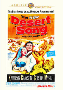 The-Desert-Song-New-DVD-Manufactured-On-Demand-Mono-Sound