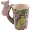thumbnail 58 - Animal Shaped Handle Ceramic Mug Tea Coffee Cup Novelty Gift Jungle Tropical