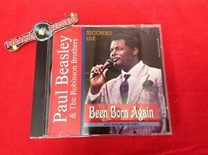Paul-Beasley-amp-Robinson-Brothers-Been-Born-Again-Gospel-USED-CD-Piranha-Records