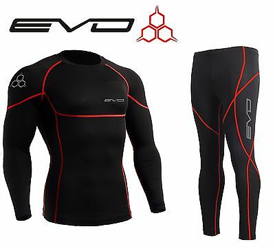 Frank Evo Active Mens Compression Base Layer Armour Top Skin Leggings, S,m,l,xl,xxl