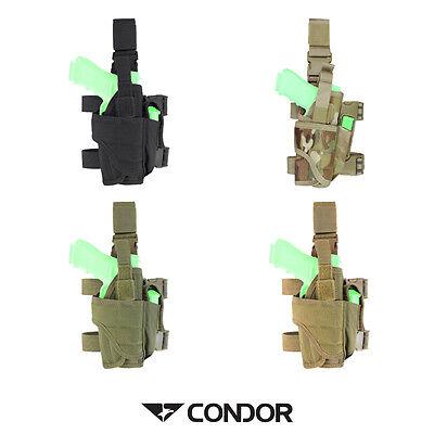 Condor Tornado Tactical Airsoft Fondina Per Pistola Drop Leg Ttlh Regolabile-mostra Il Titolo Originale Essere Distribuiti In Tutto Il Mondo