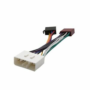 image is loading iso-wiring-harness-connector-adaptor-stereo-radio-lead-