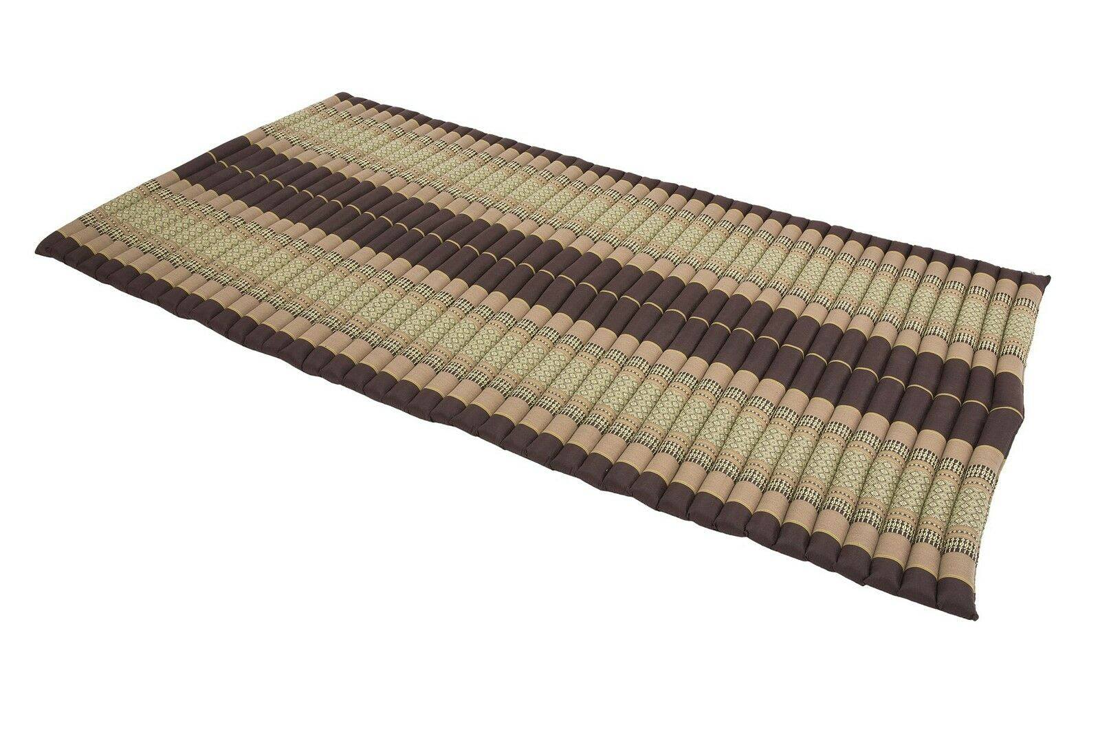 Kapok Matte Thai Rollmatte rollbar rollbar Rollmatte Boden Futon Iso Natur fest Gymnastik Erd Töne a5c890