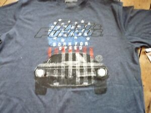 New-with-Tags-Unisex-Large-Blue-T-shirt-Fast-and-Furious-Born-for-Speed
