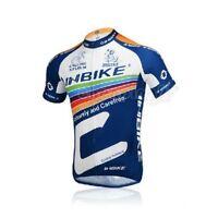 Bicycle Jerseys Rainbow Cycling T-Shirt Bike Short-Sleeved Clothing Jacket Tops