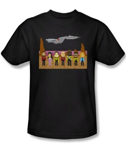 Star Trek The Next Generation Trexel Crew T-Shirt Noir