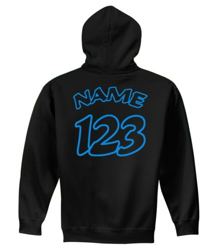 JUST RIDE YOUTH CUSTOM BMX NUMBER PLATE HOODIE SWEAT SHIRT BIKE HARO GT