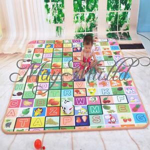 Baby kid playing playmat picnic cushion mat educational for Au maison picnic blanket