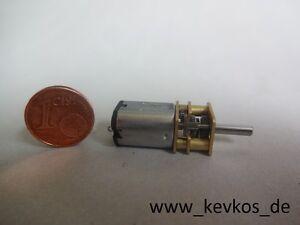 Mini-Elektro-Motor-mit-Getriebe-N20-6V-60-U-min-DC-Modellbau-RC