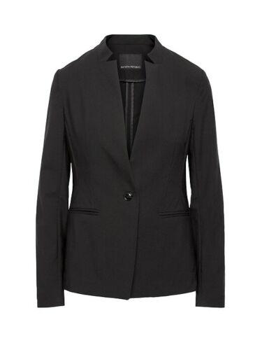 en Republic noir laine 14 coupe et Banana léger ajustée Blazer coupe slim noire qgtdxnAw