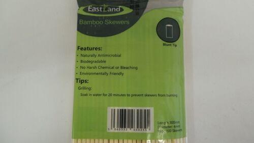"""12/"""" 300mm x 4mm Round Premium Candy Floss Machine Sticks BLUNT END"""