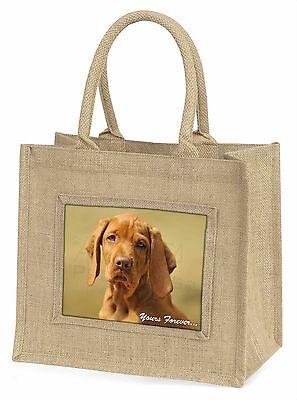 Ungarischer Vorstehhund dir für immer Große Natürliche Jute-einkaufstasche