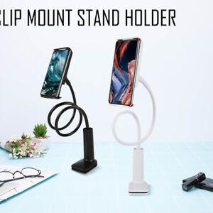 Clip-Flexible-Mobile-Cell-Phone-Holder-Lazy-Bed-Desktop-Bracket-Mount-Stand-UK