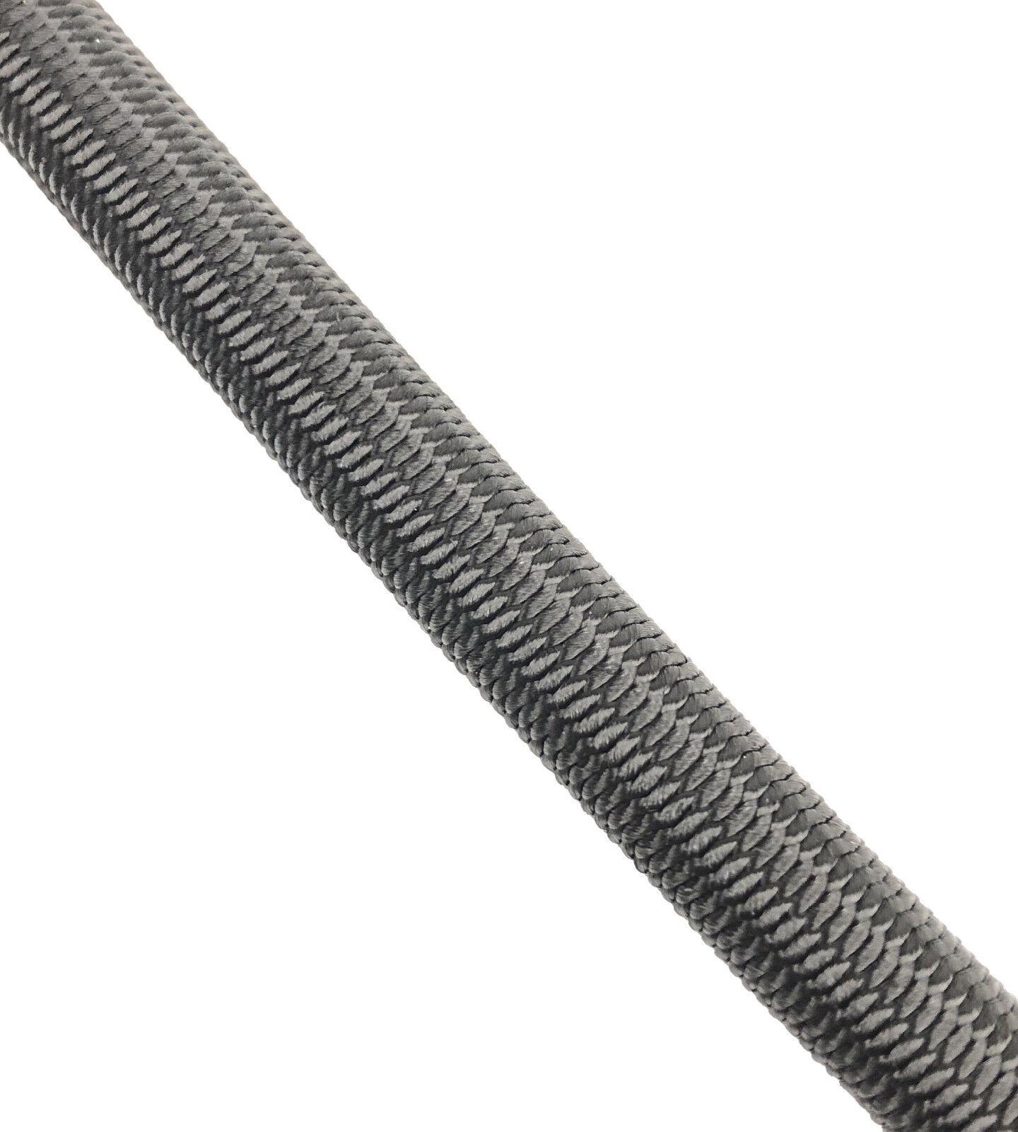 12 elastisch mm schwarz elastisch 12 Gummi seil. Gummiseil Anbindung x 40 M e5307d