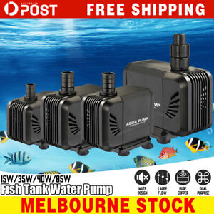 Water-Pump-Submersible-Electric-Quiet-Aquarium-Fountain-Pond-Fish-Tank-AU-Plug