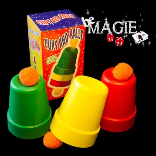 Gobelets magiques - plastique - Cups and balls - Tour de Magie