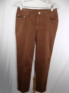Ralph-Lauren-WOMEN-039-S-Dress-PANTS-SZ-4-BROWN-28-x-27