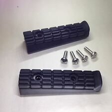 Yamaha TDM850 1991-2001 Front Footrest Rubbers (Pair) OE Quality - NEW