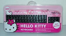 Hello Kitty Pink Keyboard, NEW, Spill Resistant, FREE Shipping