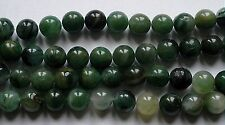 5 rondes 10 mm African Jade.