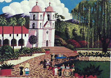 PUZZLE ..HERONIM.Santa Barbara Mission.1000...Nvr opned