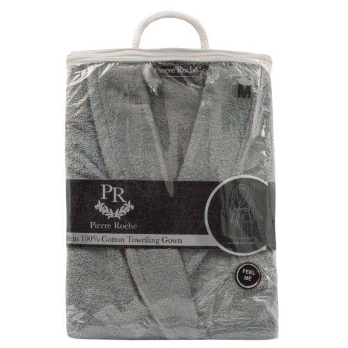 Hommes Deluxe Coton Luxe Doux Tissu éponge Bath Spa Peignoir Éponge Peignoir