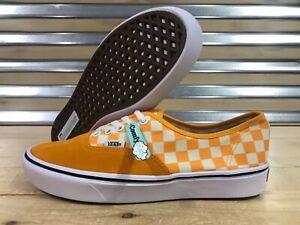 Details about Vans ComfyCush Authentic Skate Shoes Checker Zinna Orange Mens SZ (VN0A3WM7VNC)