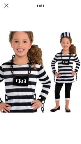 Cute Child Prisoner Costume By Amscan - Medium