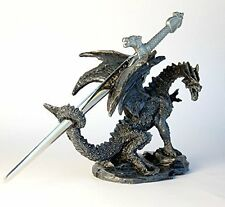 Dragon Ornament with Sword Letter Opener, 10 cm