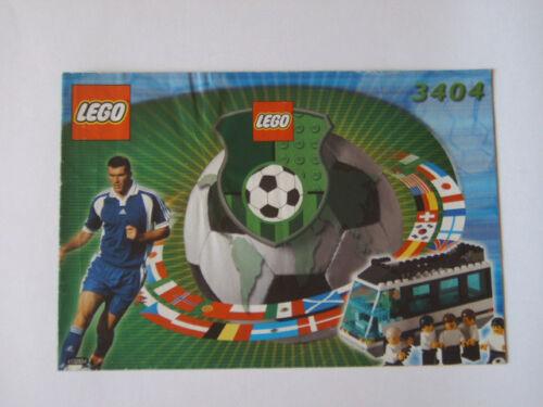 LEGO® Bauanleitung Instruction Nr 3404