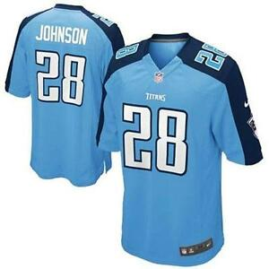 Details about Nike sz S Chris Johnson #28 Authentic Tennessee Titans Jersey NEW $100 468970