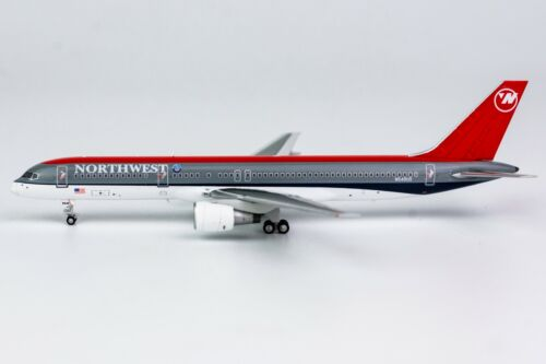 "1:400 NG Models Northwest 757-200 /""Bowling Shoe/"" N549US 53152 Airplane *NEW*"