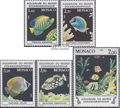 Never Hinged 1985 Fish complete.issue. Unmounted Mint Spirited Monaco 1704-1708