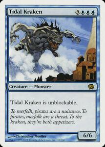 Tidal Kraken FOIL 9th Edition NM Blue Rare MAGIC THE GATHERING CARD ABUGames