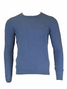 GANT-Men-039-s-Palace-Blue-O2-Loop-Fleece-Crew-8030006-Size-Medium-NWT