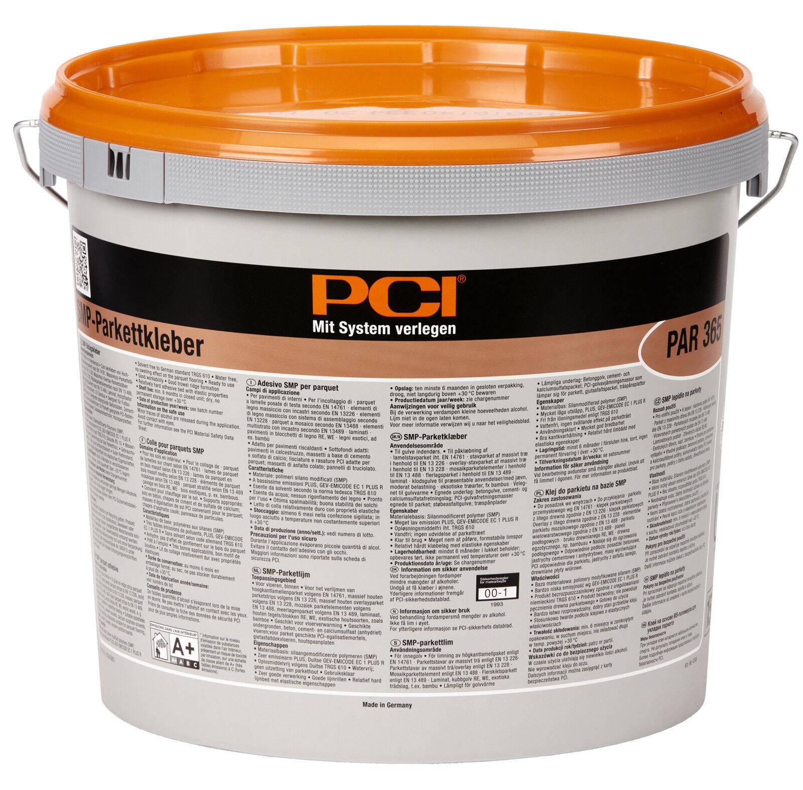 PCI PAR 365 SMP-Parkettkleber 15 kg Parkett-Klebstoff für Böden im Innenbereich