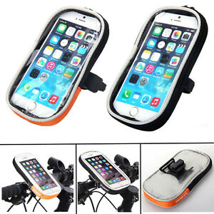 MTB Bicycle Cycling Bike Front Top Tube Frame Bag Waterproof Phone Holder Case
