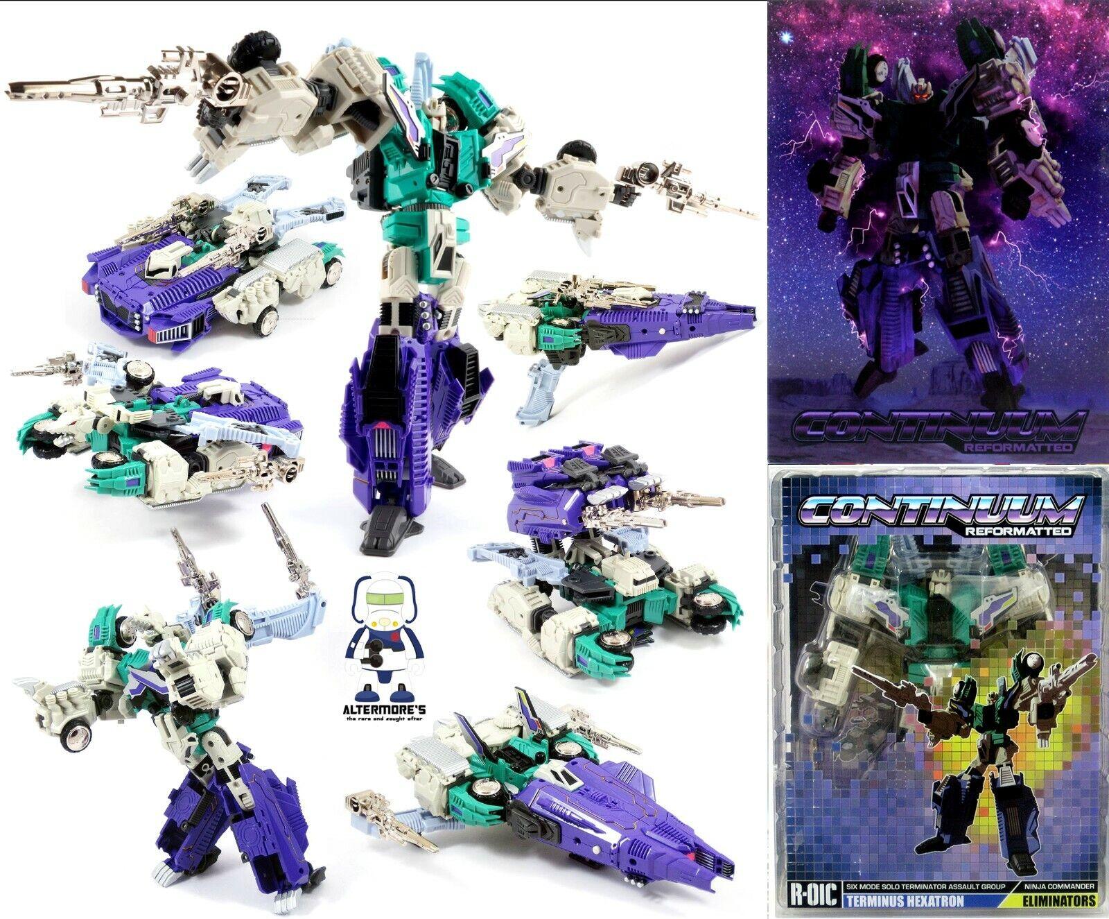 Transformers MMC Continuum R01 Terminus Hexatron Altriessiti detto IDW sixscaliente Nuovo di zecca con scatola