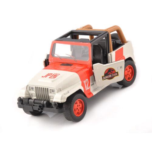 1//43 Jeep Wrangler Diecast Orange/&White Car Model JADA Toys Car Toys Collection